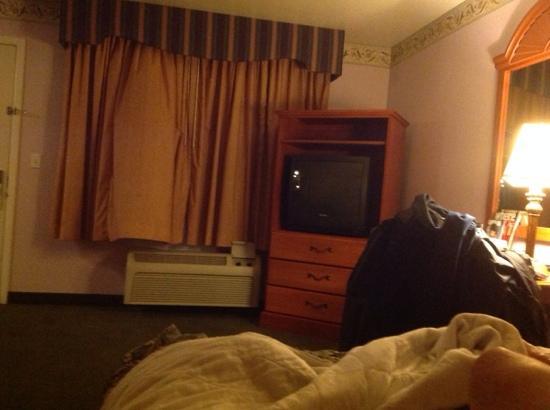 Rodeway Inn: quarto na manha!!!!