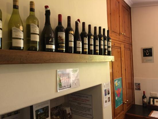 Fox Creek Wines: Large collection on great wines