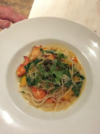Mariposa: lobster spaghettini