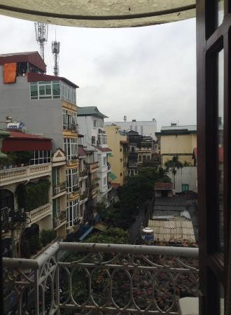 Hanoi Culture Hostel : View from balcony