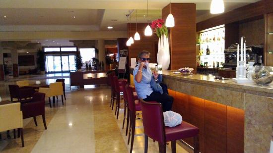 Hotel Siena degli Ulivi: hall dell'hotel