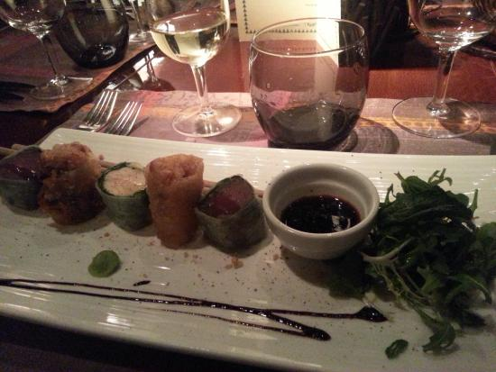 Restaurant Thierry Saveurs et Cuisine : California rolls