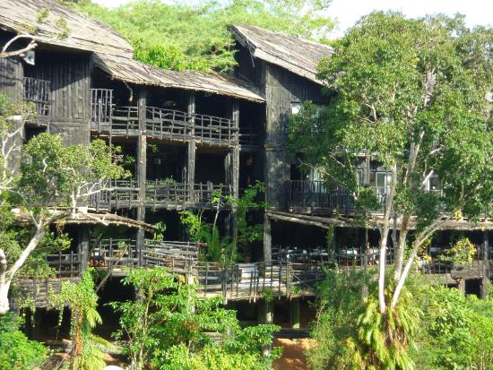 Shimba Rainforest Lodge: Hotel facade