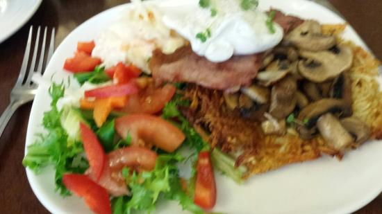 Solid Rock Cafe : Rosti dish was lovely