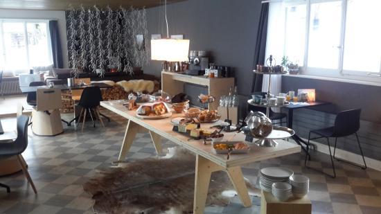 Lenk Lodge: Frühstücksbuffet