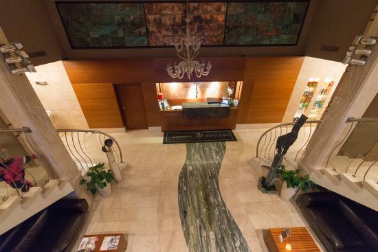 Farmona Hotel Business & Spa: The main lobby.