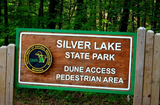 Mears, Мичиган: Silver Lake State Park