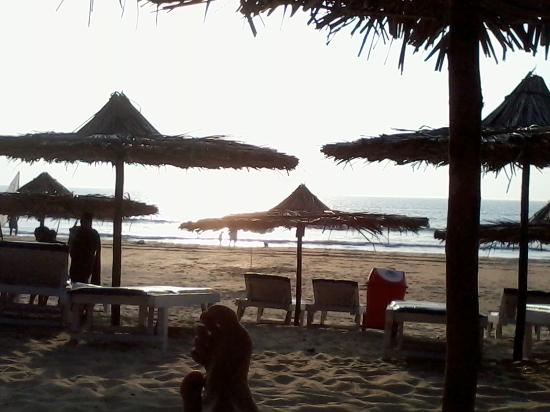 Anthy's Guest House: The beach side of Anthy's