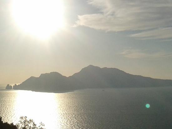 La Torre: La vista di Capri