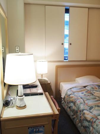 Takamatsu Washington Hotel Plaza: シングル
