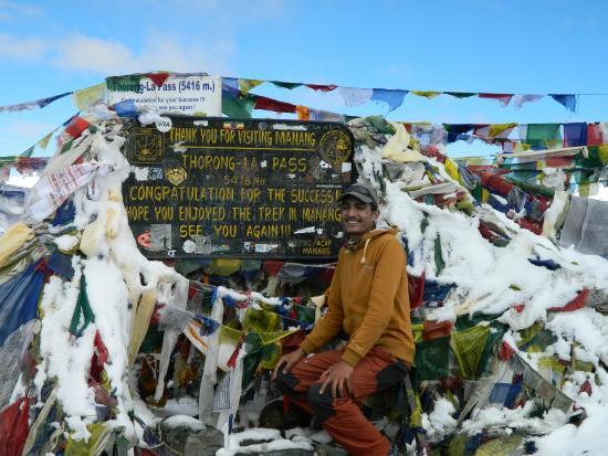 Himalaya Heart Treks & Expeditions - Day Tours: Rajendra at Thorung La Pass