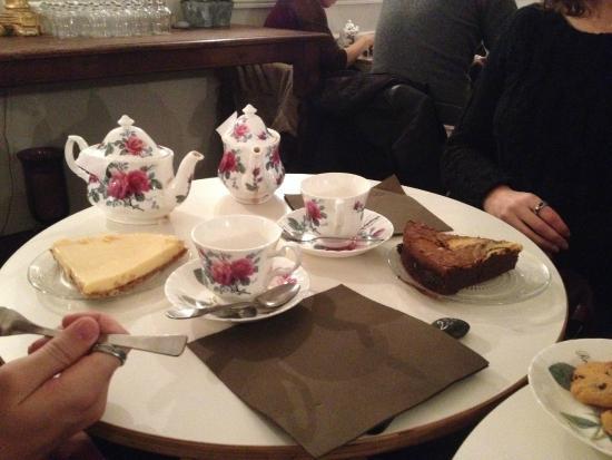 L'Autre Salon de Thé : thé et gâteaux