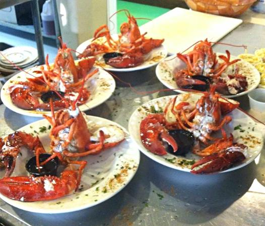 Woolley's Seafood House: Lobster
