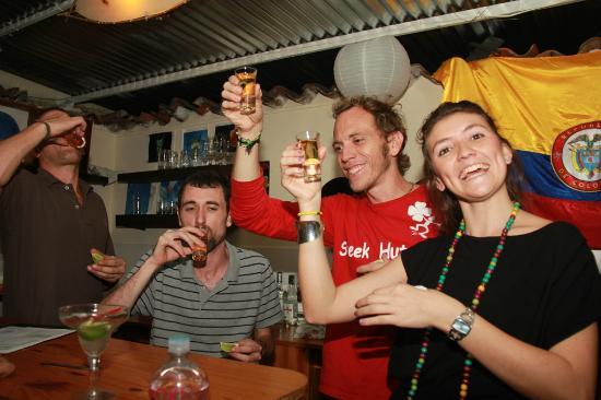 Hostel Kasa Guane : Bar at Kasa Guane !