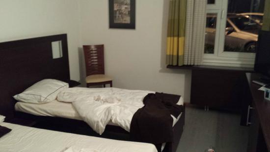 Threeland Hotel: Unser Zimmer