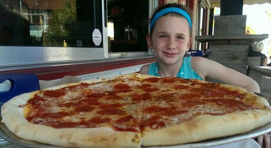 DeLosa's Pizza : Large pizza!