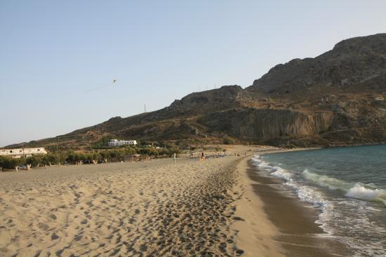 Hotel Alianthos Garden : Plakias beach