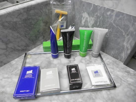 Tower Genova Airport - Hotel & Conference Center : kit di cortesia bagno