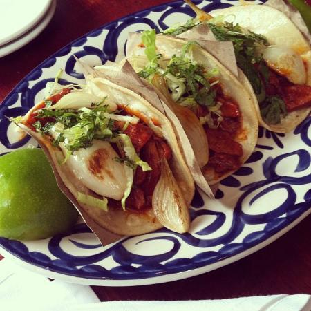La Palapa: Duck Tacos