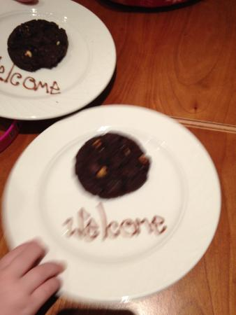 Kettering Park Hotel and Spa: bedtime cookies and milk :-)