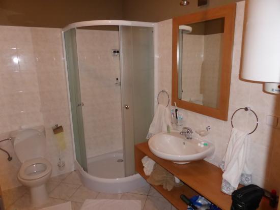 SwissHouse Apartments & Spa: Badezimmer