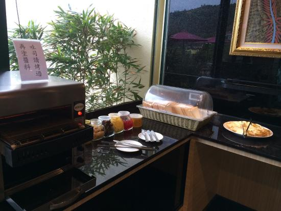 Yunwulou B&B: Breakfast