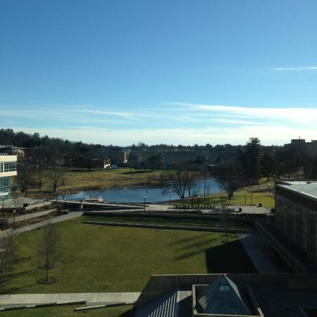 Hotel UMass: Campus pond