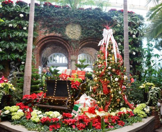phipps conservatory and botanical gardens christmas theme