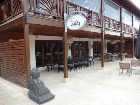 Sandals Grenada Resort and Spa: Soy Restaurant