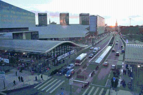 Crowne Plaza Lille : vue depuis la chambre 507