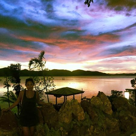 Culion, Филиппины: Amazing sunsets