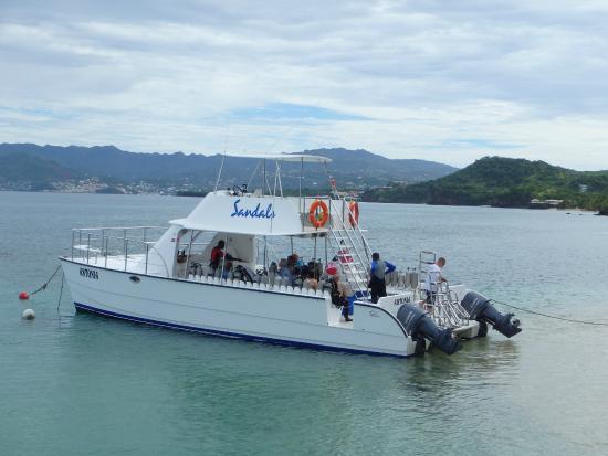 Sandals Grenada Resort and Spa: Dive Boat