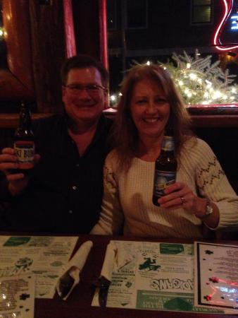 Ellicottville Brewing Company: Try the blueberry beer!