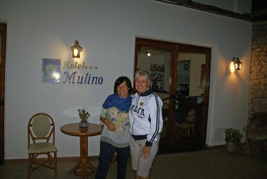 Al Mulino: With Antonietta in the evening