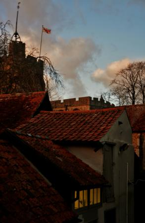The George: View from room4. Church bells ring every 15 mins and hourly. Something I found lovely.