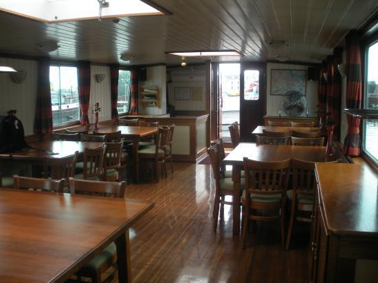 Amsterdam Hotelboat: Comedor