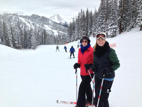 Skiing at Monarch Mountain