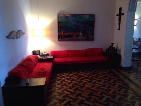 Pousada do Boqueirao : Angolo salotto