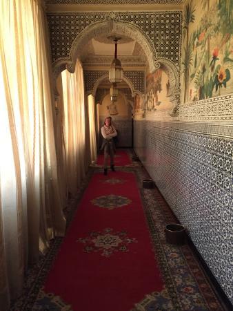 Palais Chahramane: Belle entrée !