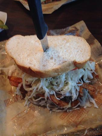 Primanti Brothers: This looks much better than it tastes -pastrami