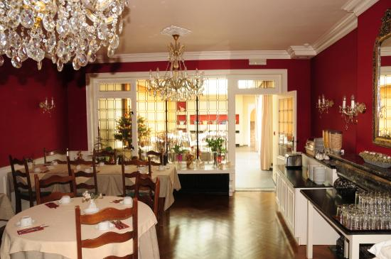 Anselmus Hotel : breakfast room