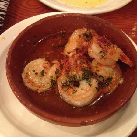 Buleria Restaurant: shrimps with lots of garlic