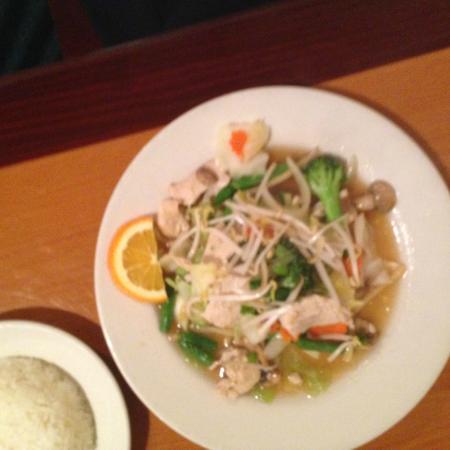 Thai Delights Restaurant: Chicken Vegetable