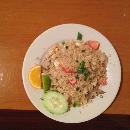 Thai Delights Restaurant: Combo fried rice