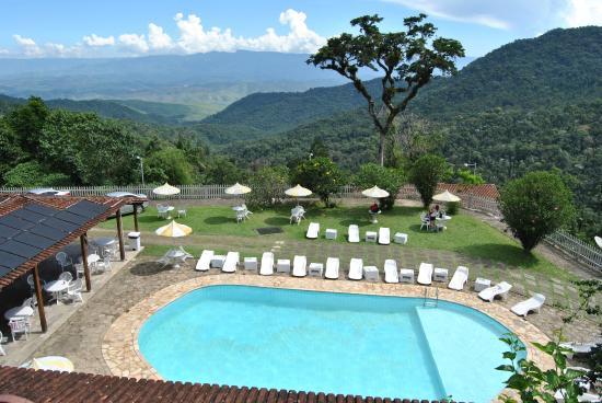 Hotel Do Ype: Vista da sacada da cabana