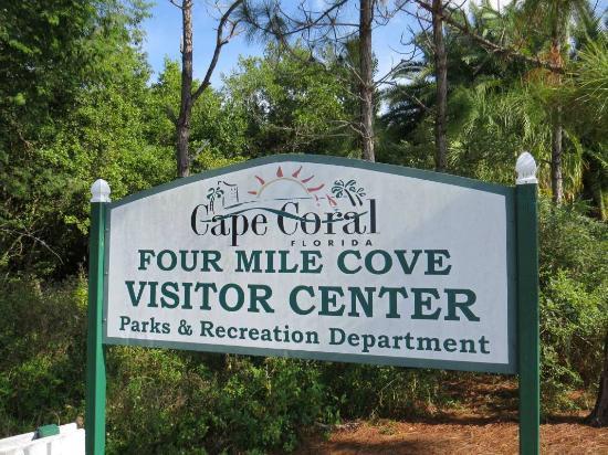 Four Mile Cove Ecological Preserve: Four Mile Cove