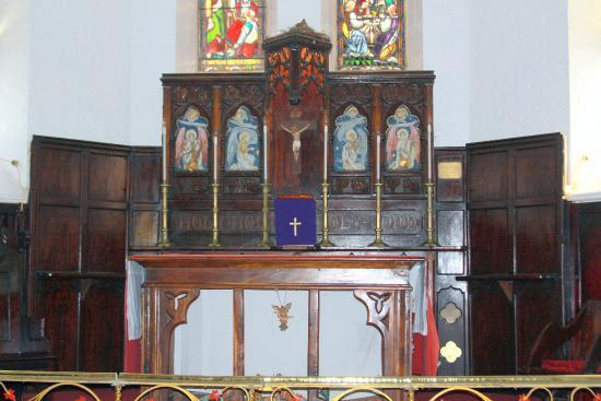 St. John's Church: inside the church