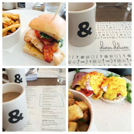 Diner Deluxe: Fantastic food, coffee and service!