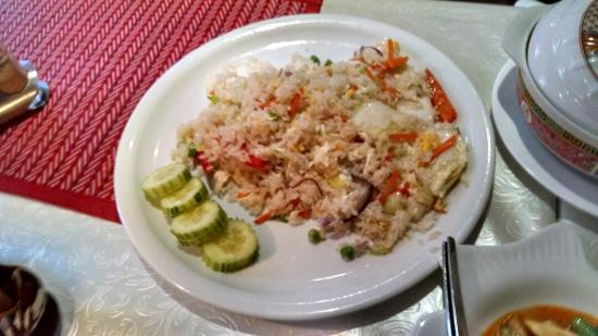 Tonsai Thai-Restaurant: Vegetarian fried rice