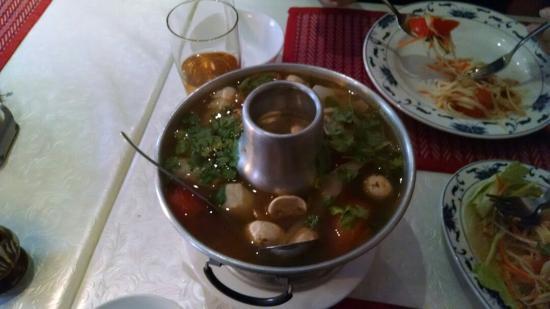 Tonsai Thai-Restaurant: Tom yum thale
